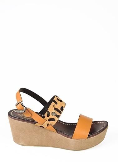 Lee&Wrangler Wrangler Sandalet Taba